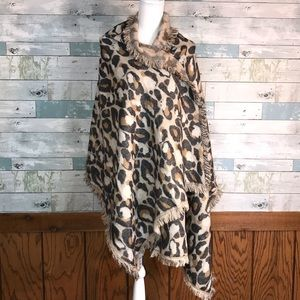 H & M  winter animal print pashmina #285